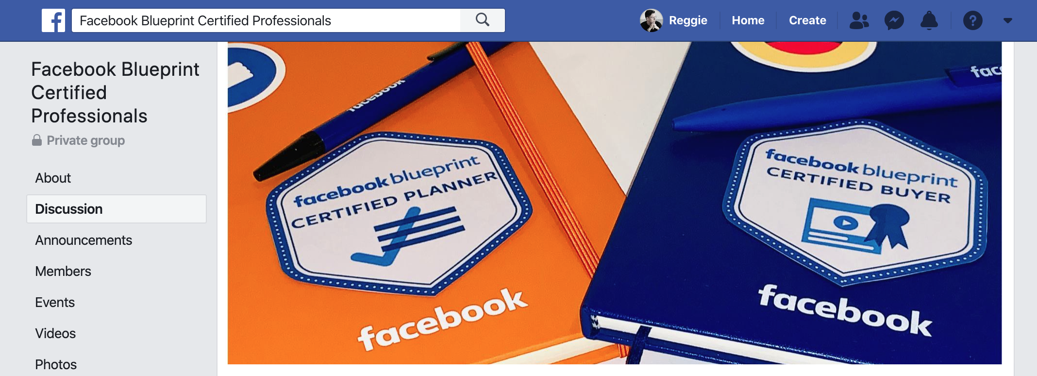 Facebook Blueprint Certification Professionals Facebook Group