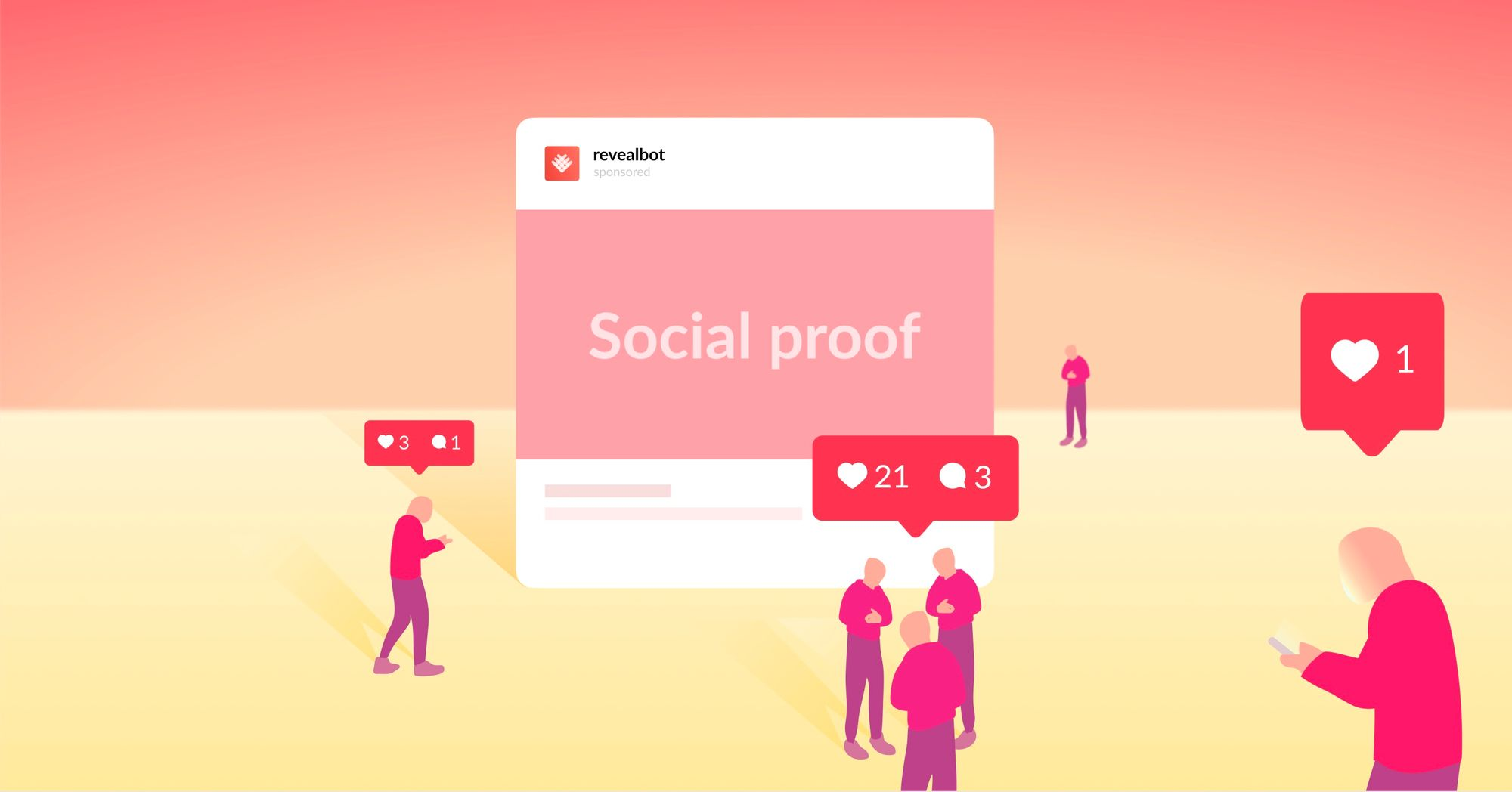 How to hack social proof in Facebook ads